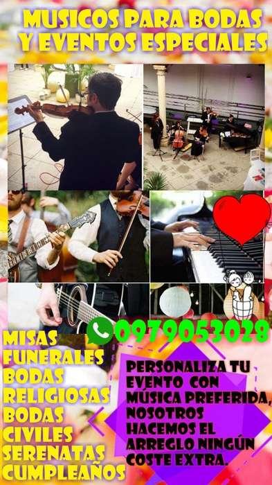 Musicos Trios Violinistas Bodas Serenata