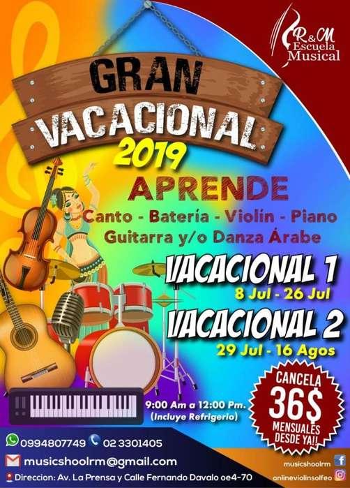 VACACIONAL MUSICAL RM