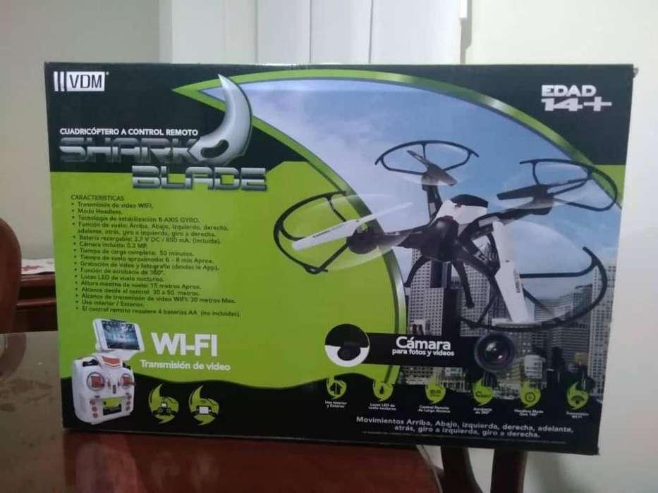 VENDO NUEVO Drone Radio Control Shark Blade