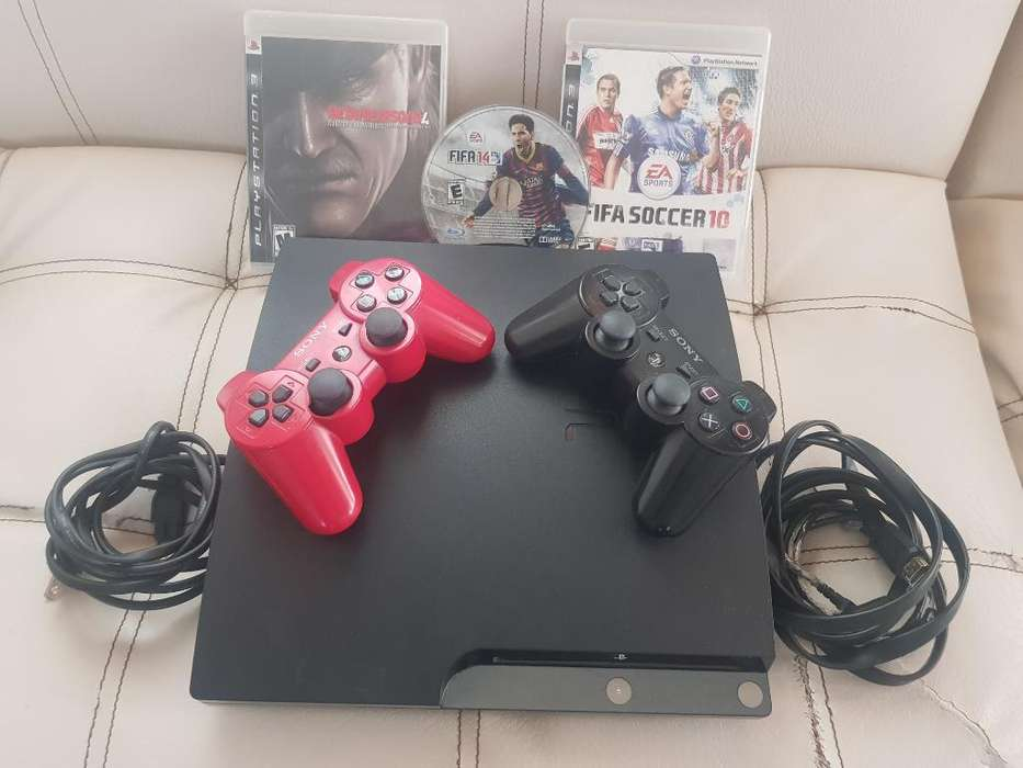 Play 3 Slim Muy Completo