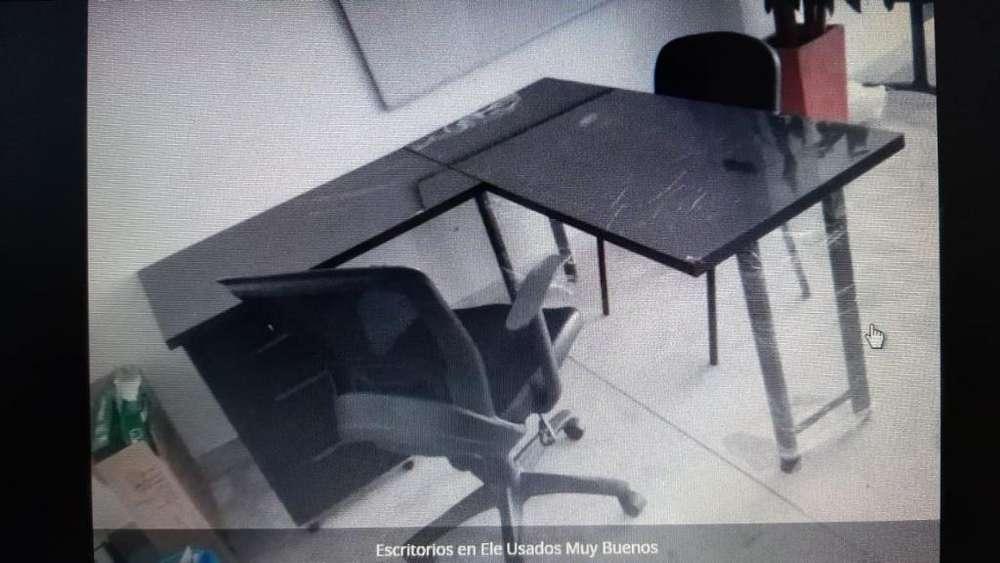 <strong>escritorio</strong>s en Ele Usados Pero Excelente