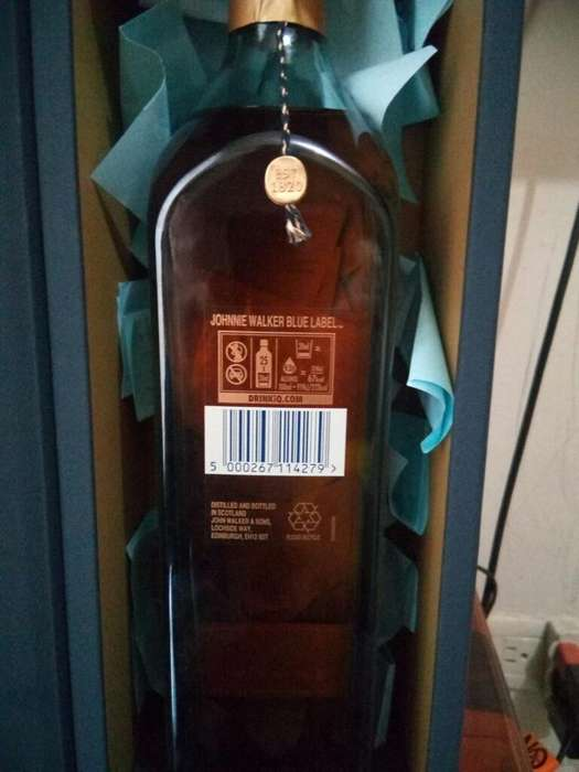 Vemdo Wisky Johnnie Walker Blue Label