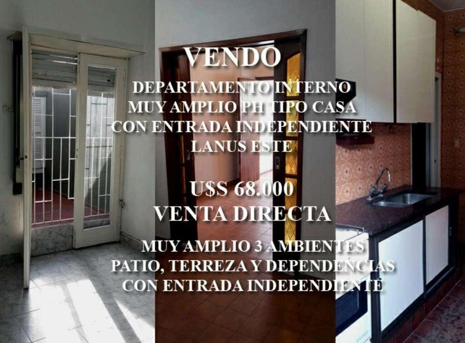 Departamento Tipo Casa 3 Amb. Ph Interno