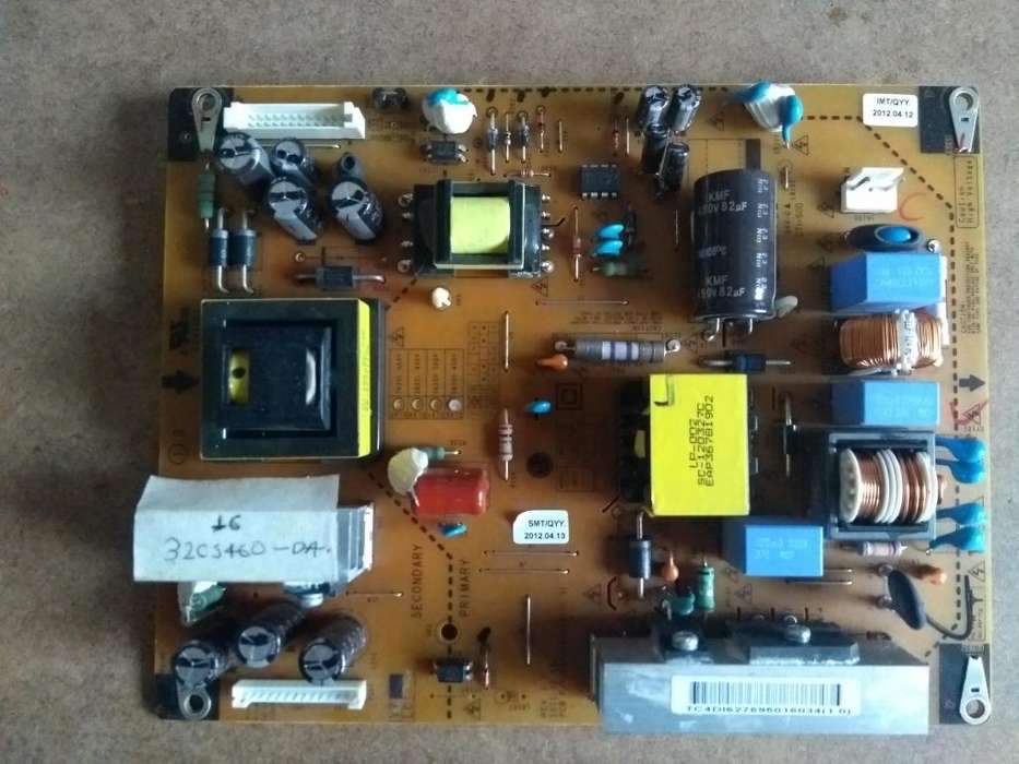 tarjeta fuente tv LCD LG 32cs460DA