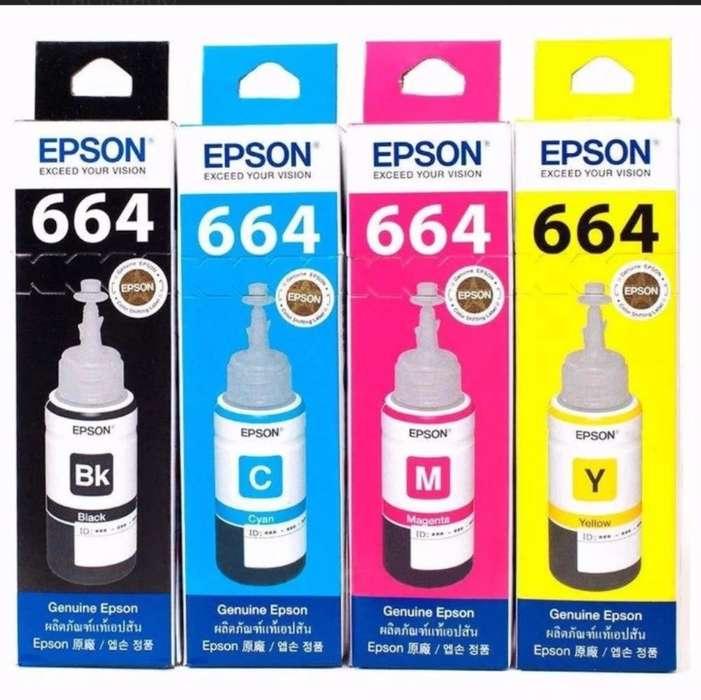 Tinta para Impresoras Epson
