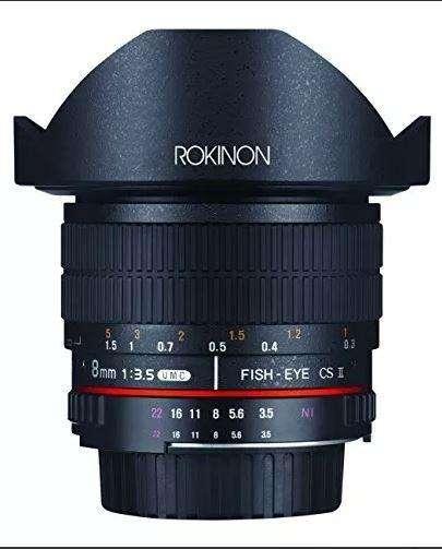 Rokinon Fe8mp 8mm F3.5 Fisheye Lente Fija Para Canon