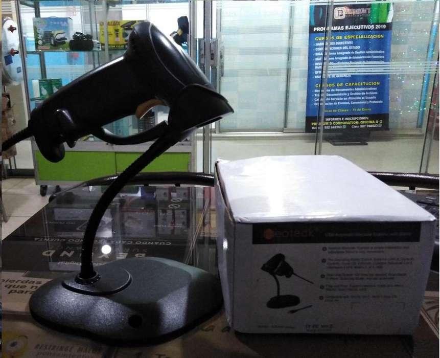 Escáner de Código Largo Alcance Alta Velocidad Neoteck con Soporte Ajustable