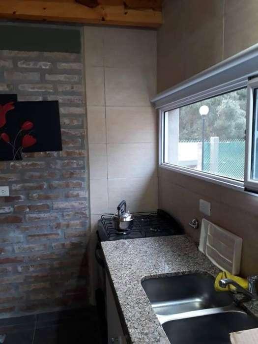 fo30 - Cabaña para 2 a 6 personas con pileta y cochera en Monte Hermoso