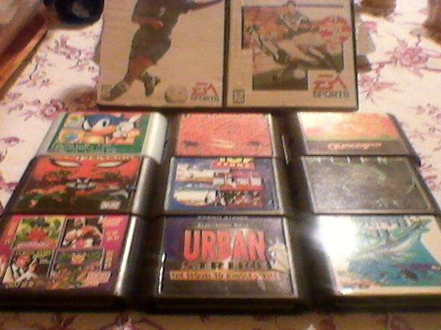 Cartuchos Sega Genesis