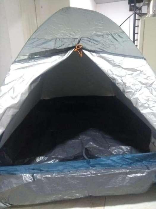 Carpa camping 2 personas