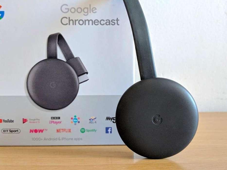 Chromcast 3 Original Sellado