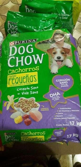 Dog Chow 17kg Cachorro Raza Prqueña