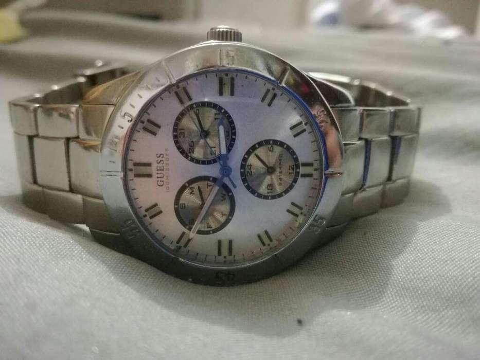 Reloj Guess Original Cronografos Japonés