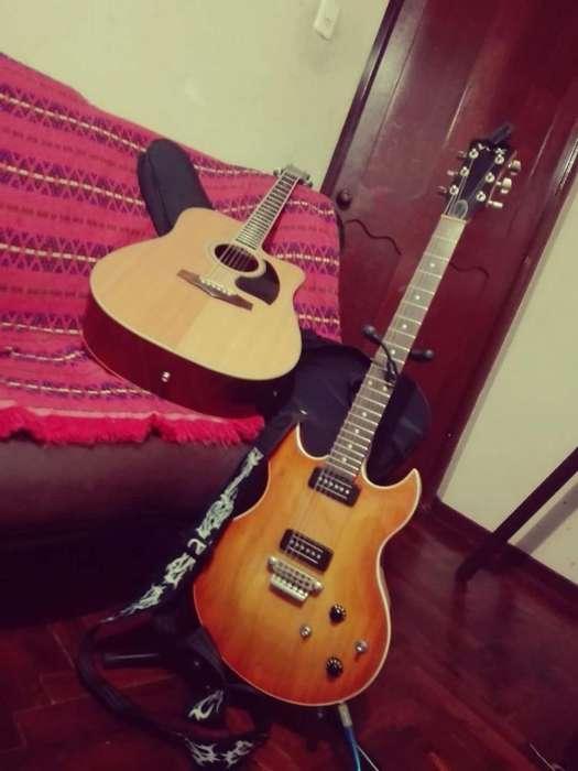 Guitarra Electrica Vox Sdc3 Teaburst P90