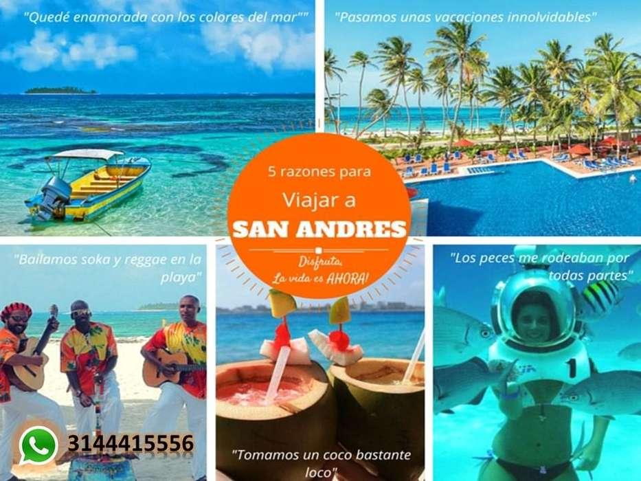 plan turistico y alquiler de apartamentos en San Andres todo incluido