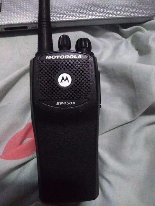 2 Radios Motorola Ep 450s sin <strong>bateria</strong>