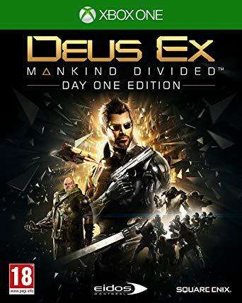Videojuego Deus Ex Mankind Devide Day One Edition Xbox One