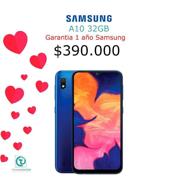 Samsung Galaxy A10, nuevo, sellado, garantia Samsung colombia,TIENDA FISICA,