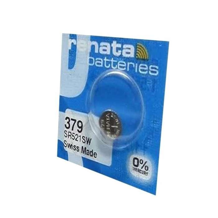 <strong>pila</strong> Renata 379 Sr521sw 1.55v Pack X 10