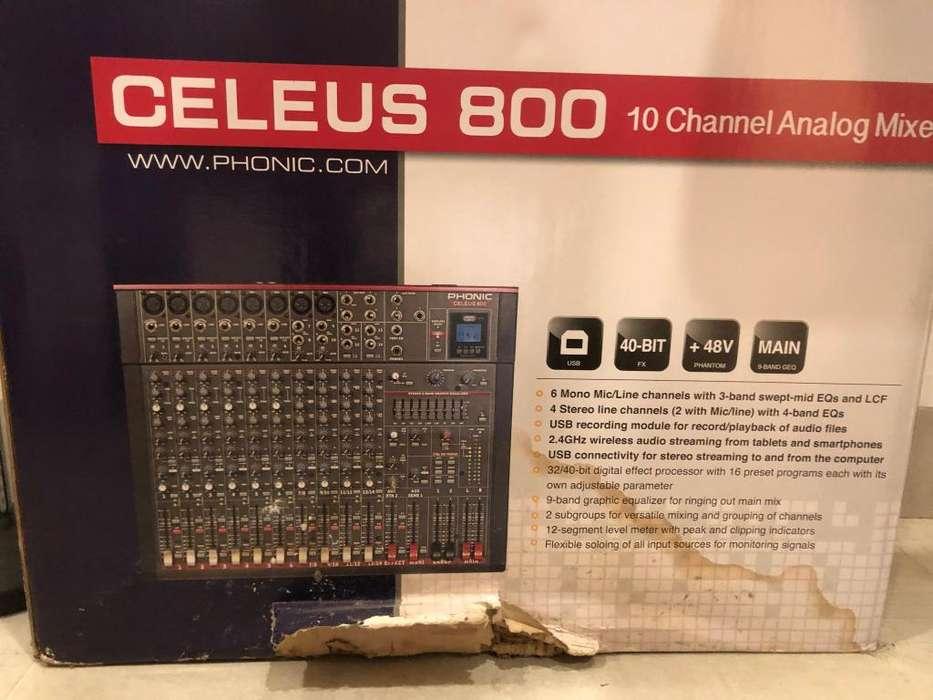 CONSOLA CELEUS 800 10 canales