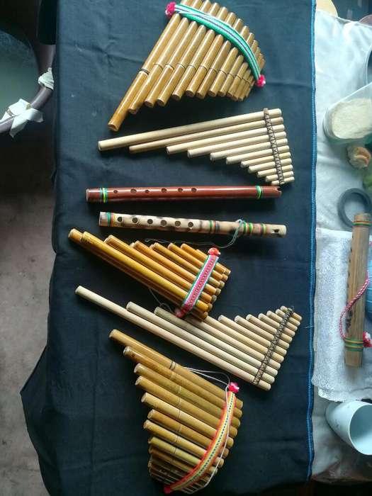 Zampoñas Quena Flauta