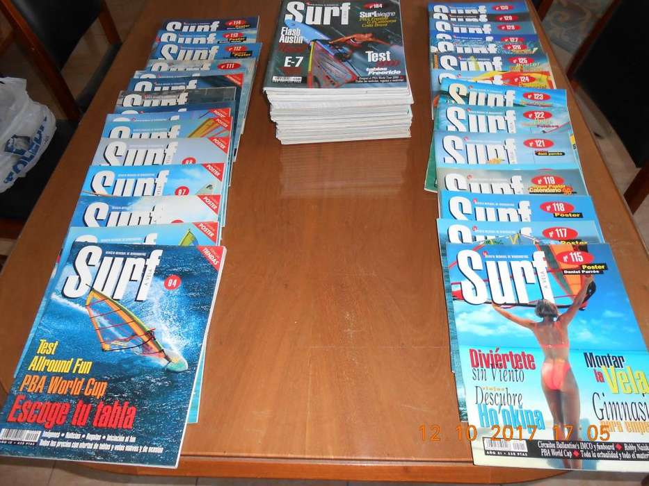 VENDO REVISTAS SURF A VELA