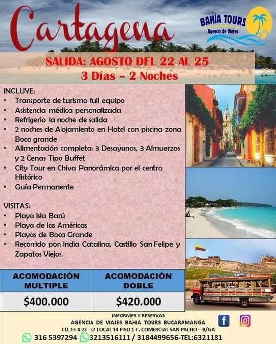 Tour Santa Marta O Cartagena 22 de Agost