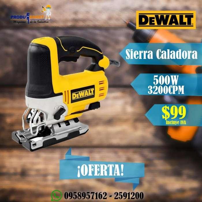 Sierra Caladora DeWALT Dw300 3200CPM