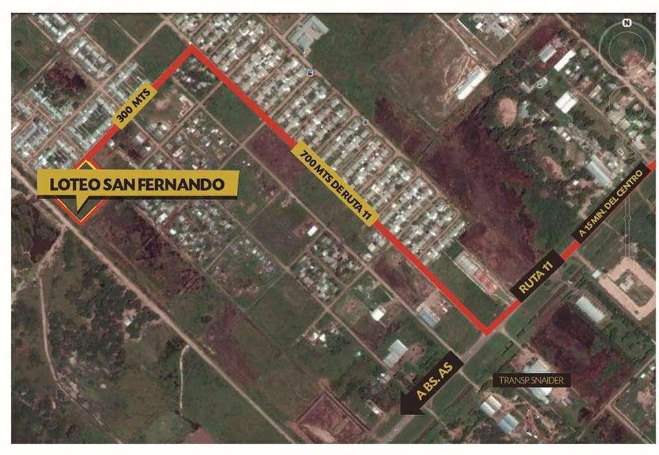 Bo San Fernando Sur, financiación hasta 36 cuotas en pesos!
