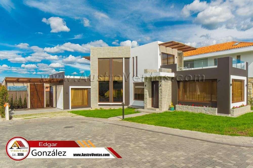 Vendo casa con Area Verde de lujo TOTAL Cuenca Ecuador