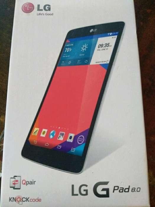 Vendo Tablet Lg G Pad 8.0
