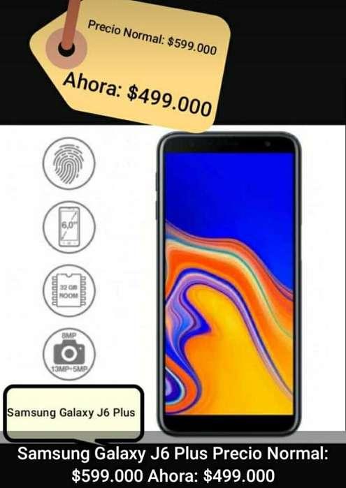 Celular Galaxy J6 Plus Nuevo Garantía