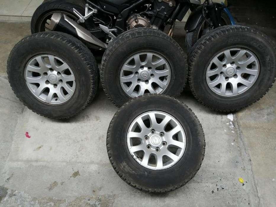 Aros con <strong>llanta</strong>s #16 para Mazda Bt50