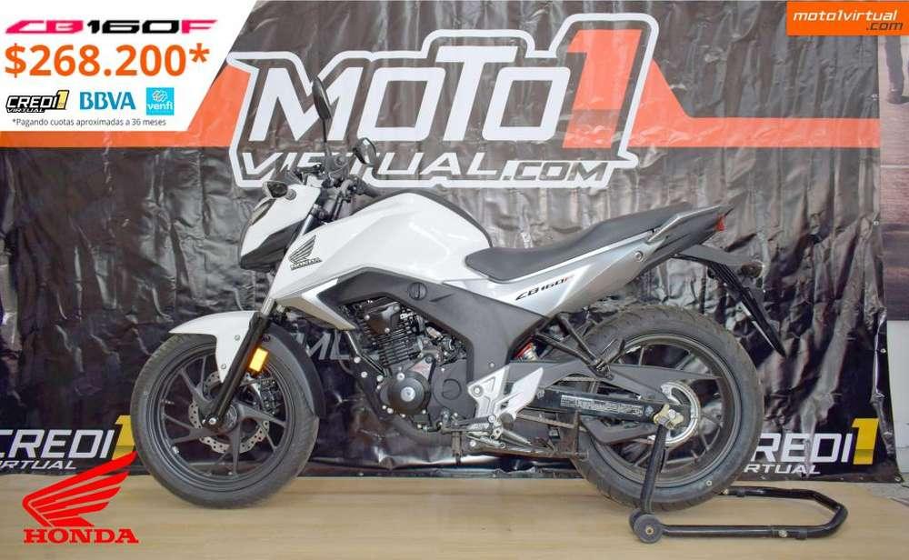 Honda CB 160F STD. FÁCIL FINANCIACIÓN. NUEVA ES NUEVA!!!