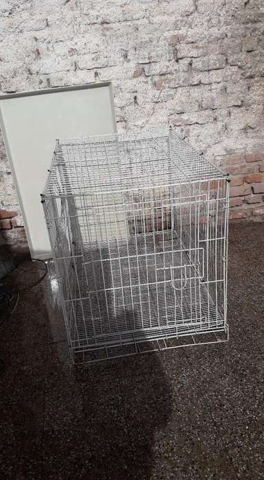 jaula perro canil plegable