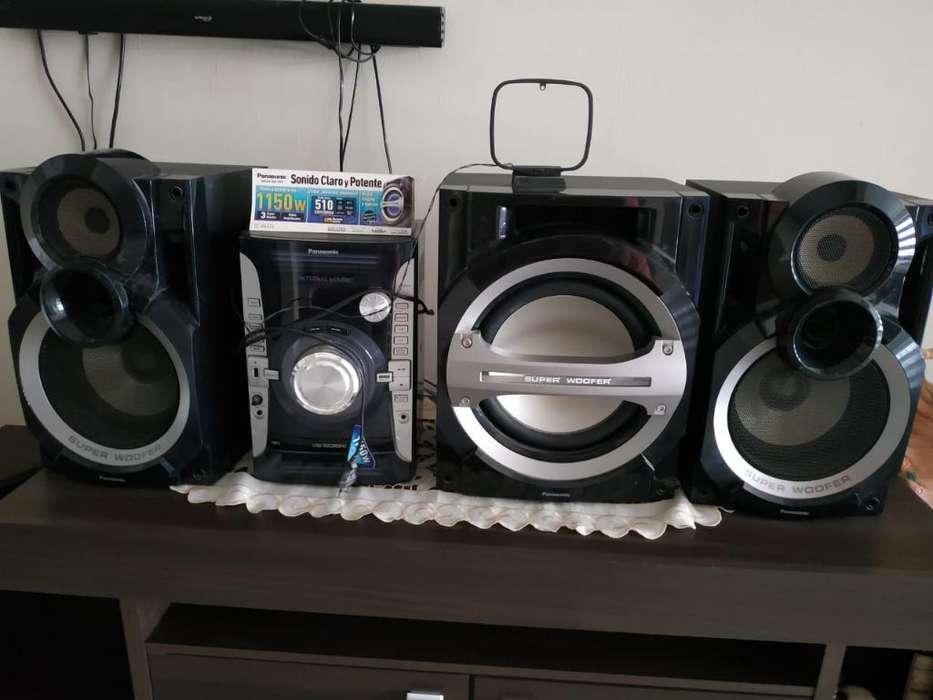 Equipo Panasonic 1150 Wats