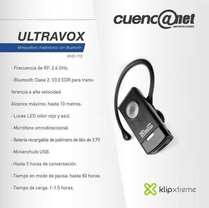 Ultravox Mini Audífono <strong>bluetooth</strong> Khs-115 Klip Xtreme