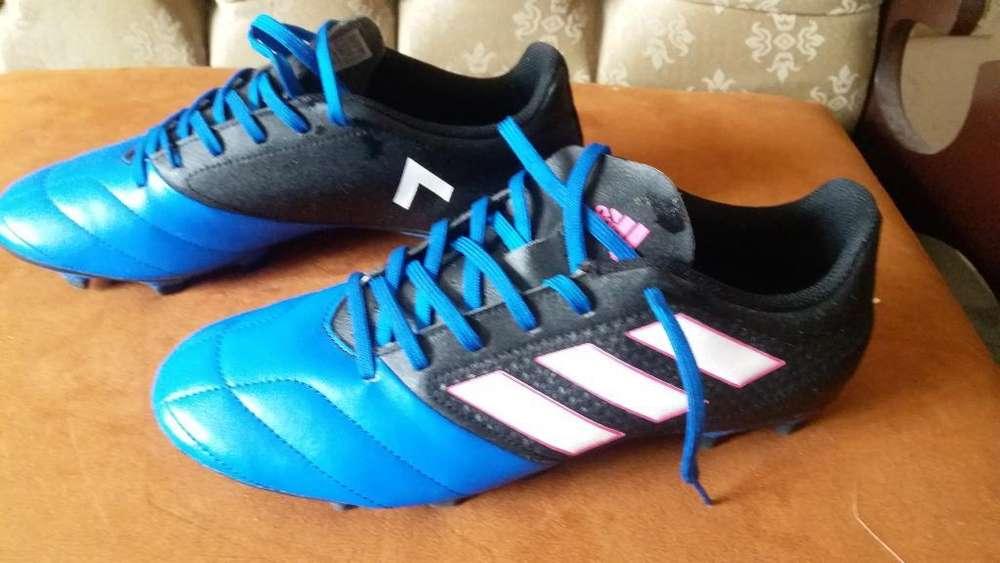 Zapatos Fútbol Adidas Ace, Talla 8
