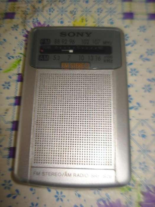 Radio Sony Srf S26 Am Fm Impecable Pocket Analogica Excelent segunda mano  Video
