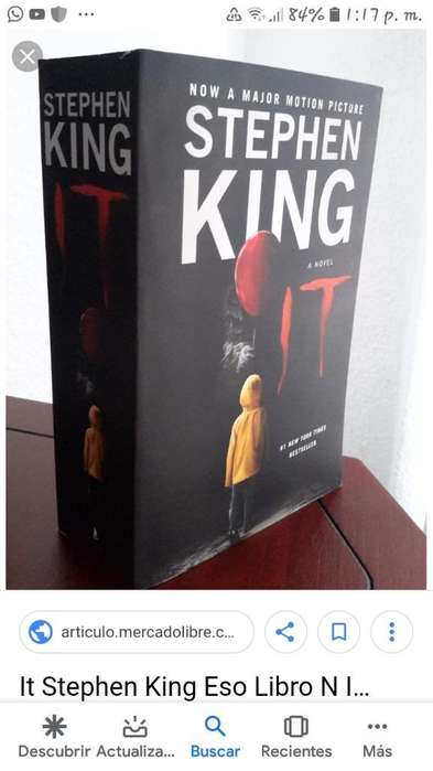 It (eso) Stephen King Libro