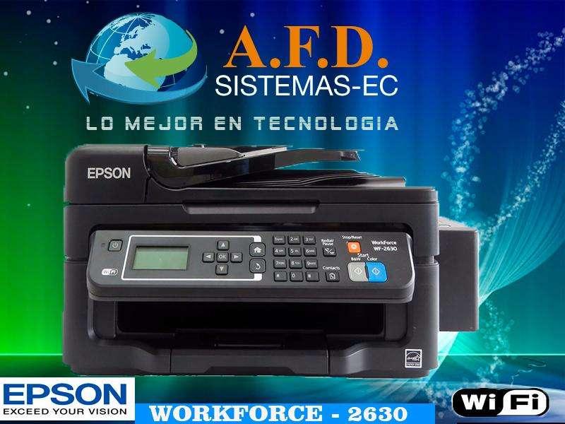 Impresora Epson Wf 2630 Multifuncion Wifi Tinta Continua Adf