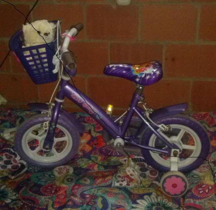 Bicicleta para Niña Gw Rin 12