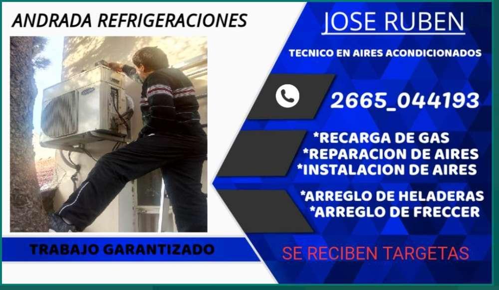 Tecnico en Aires Acondicionad 2665044193