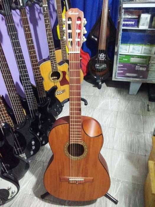 <strong>guitarra</strong> Acustica Clasica Navarro Ce 32 Natural