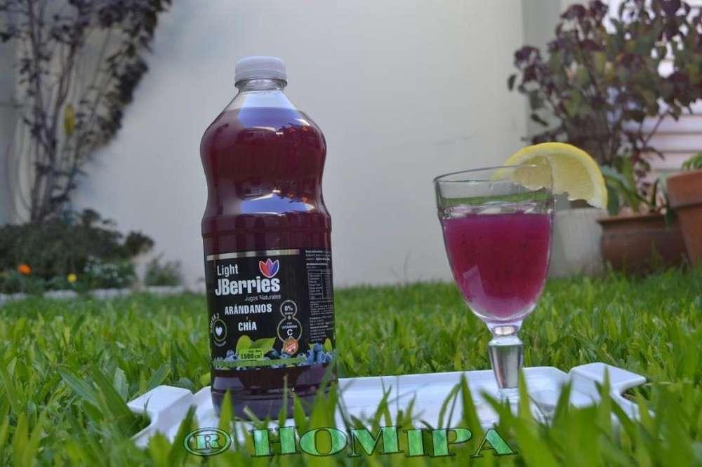 jugo de arandano con chia a 60 fito plus