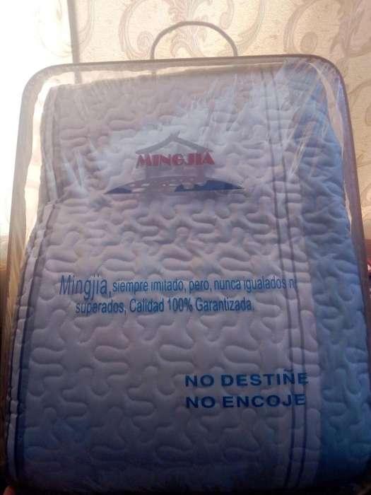 Cobertor 100 algodn dos plazas viene con 2 fundas para almohada