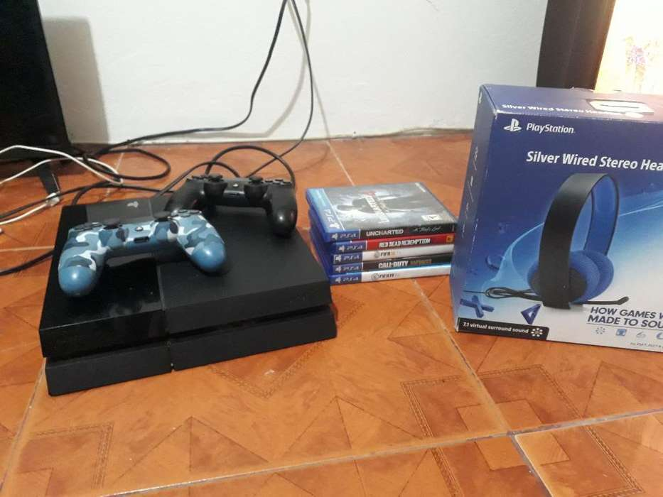 Paquete Completo Playstation 4