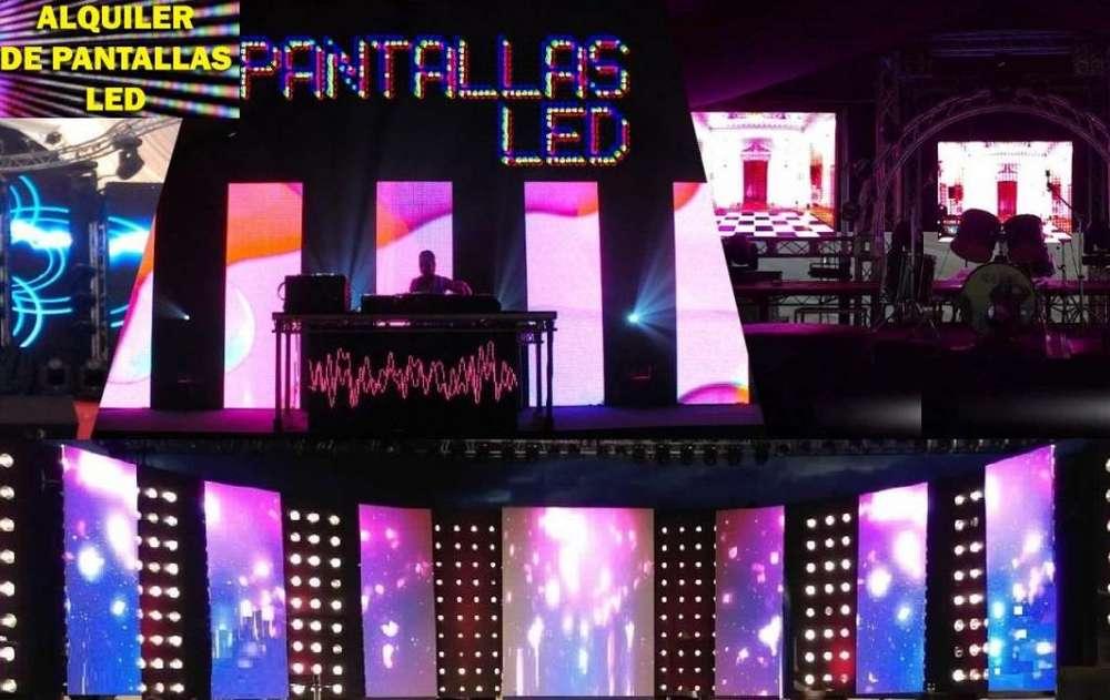Alquiler Pantallas Gigte Led Filmacion y Audiovisuales indoor y outdoor , stands, T/eventos CORPORATIVOS Watp955022963