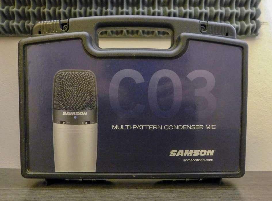 Micrófono Condenser Samson C03