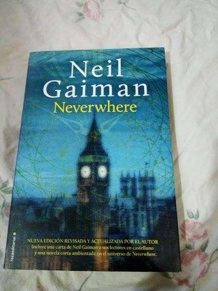 Libro Neil Gaiman Neverwhere